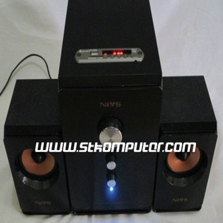 Speaker NCT NIVS F1U, With MP3 Player+FM Radio+Remot
