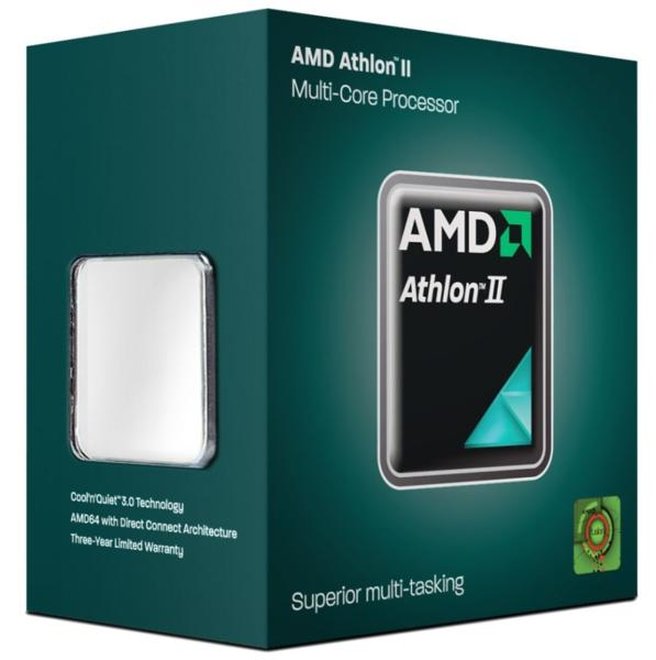 AMD ATHLON II X2 260 TRAY AM3+FAN ORIGINAL AMD