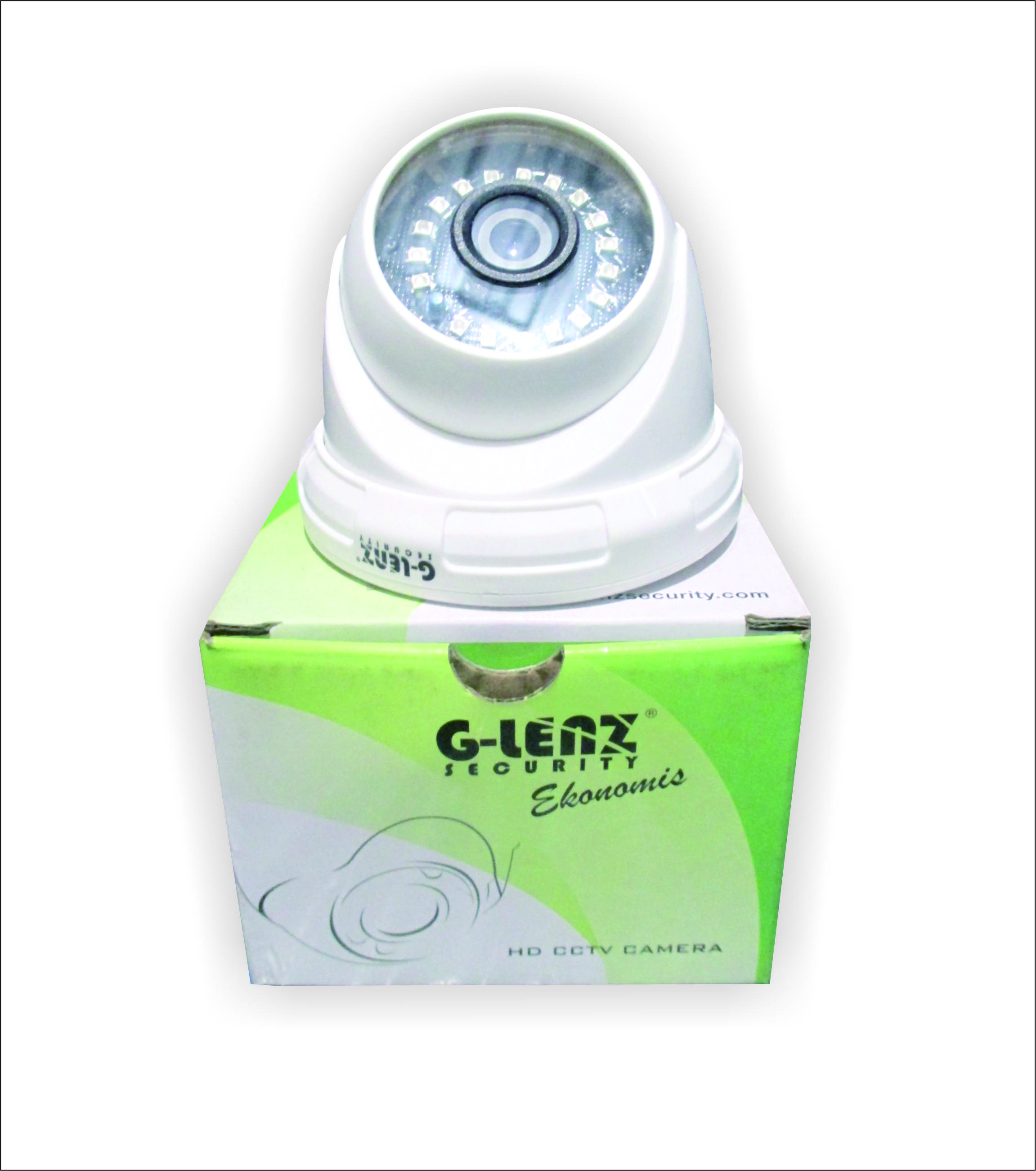 Kamera CCTV Glenz Indoor GECA2-2201 2MP