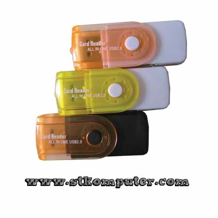 Card Reader Transparan 4slot