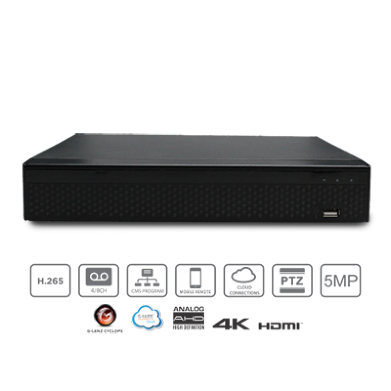 GLENZ DVR 5in1 GFDS-87516M 16 Chanel 5MP