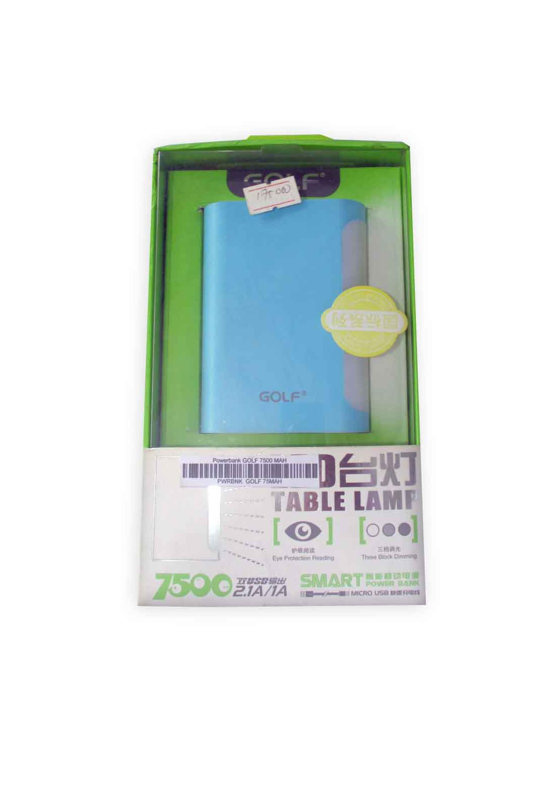 Powerbank GOLF 7500 MAH