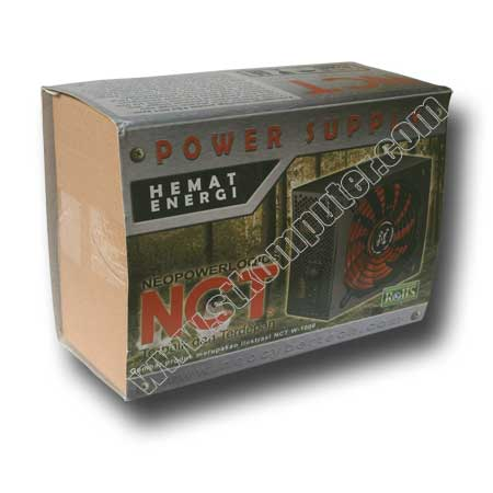 Power Supply NCT 600W (Power Raider)