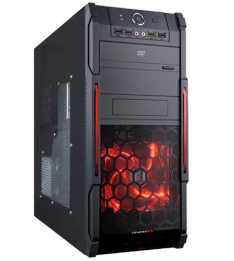 VENOMRX COMMANDO GAMING CASE
