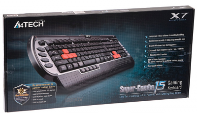 Keyboard Gaming A4tech X7