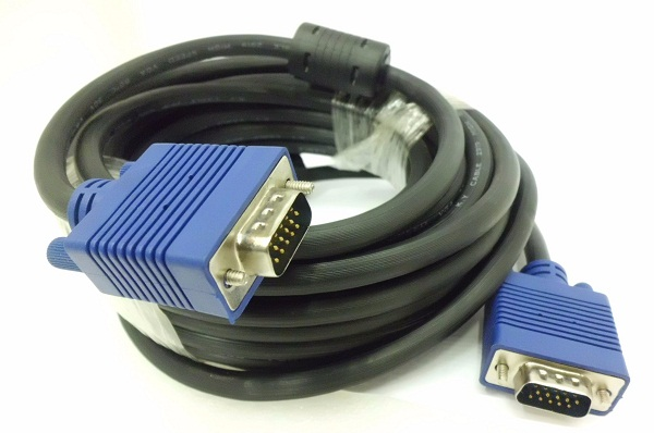 Kabel Data VGA 1,5M gold