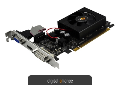 digital alliance GeForce GT 730 Kepler 1024MB DDR5	64 bit