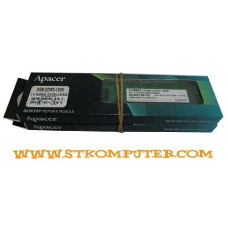 Apacer DDR3 1600 2 GB (No-Heatsink)
