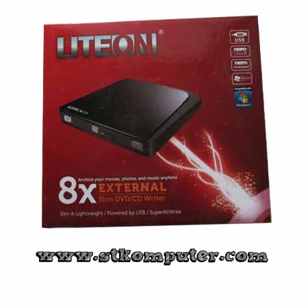 DVD RW Eksternal Slim Lite On