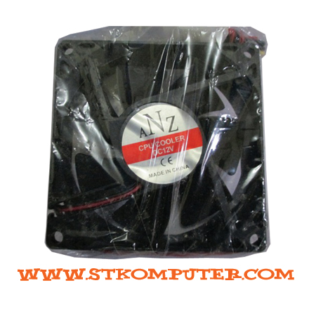 Fan Case Black 8CM