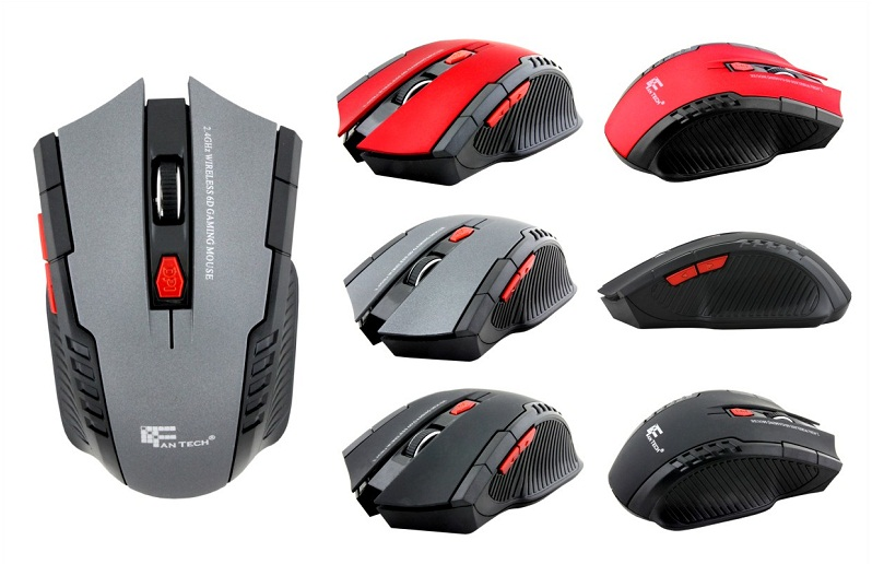 Mouse Gaming Wireless Fantech W4