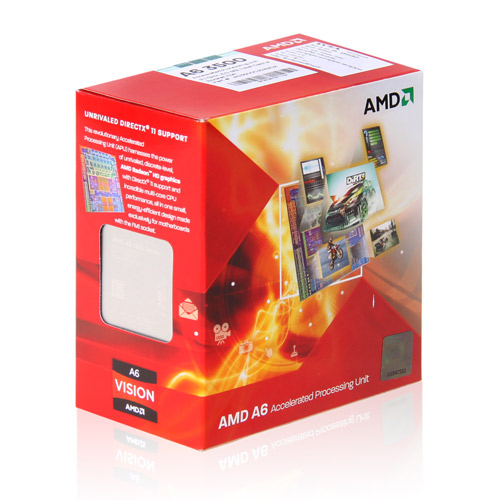 AMD APU A6 X2 3500 2.1Ghz 3MB