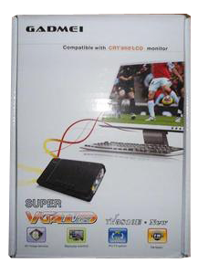 TV Tuner Gadmei CRT or LCD 3810E