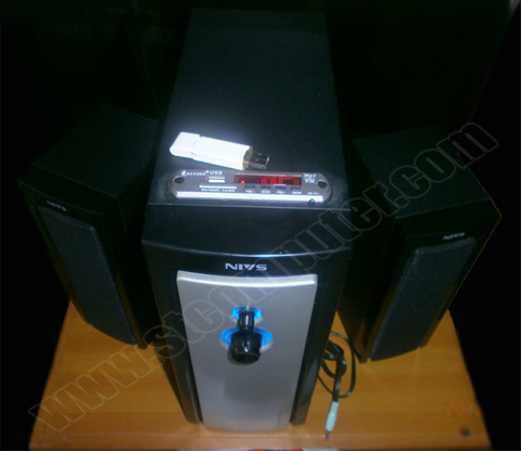 Speaker NCT NIVS H320U, Mini Home Theater+MP3+FM Radio