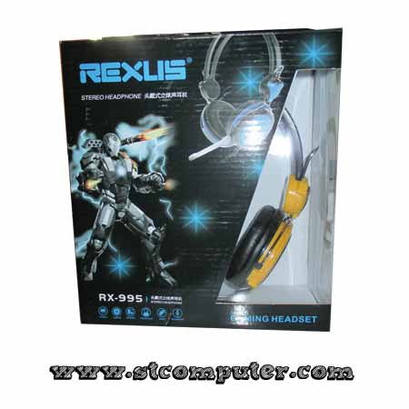 Headset Gaming Rexus+Mic 995