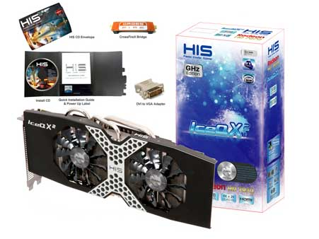VGA PCIE HIS 7970 ICEQ X2 3gb DDR5