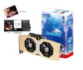 VGA PCIE HIS R9 290 ICEQ X2 4gb 4gb DDR5