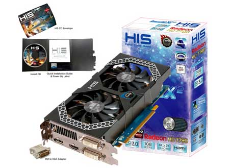 VGA HIS 7790 ICEQ X2 iPOWER Turbo DDR5