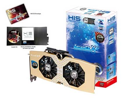 VGA PCIE HIS R9 290X ICEQ Turbo 4gb DDR5