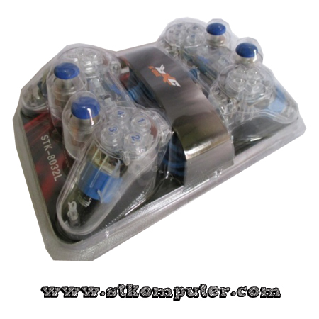 GamePad Double Transparan K-One