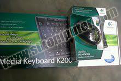 Keyboard + Mouse Logitech USB MK120