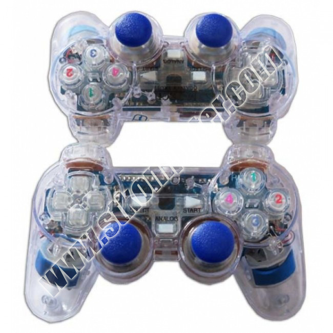 Game Pad Single Tranparan M-Tech