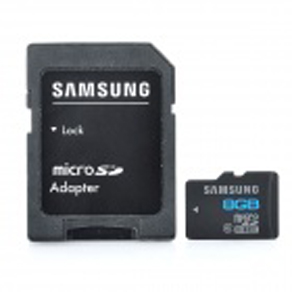Microsd SAMSUNG  Class 6 8GB with adapter