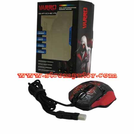 Mouse Gaming Makro Varro Spider
