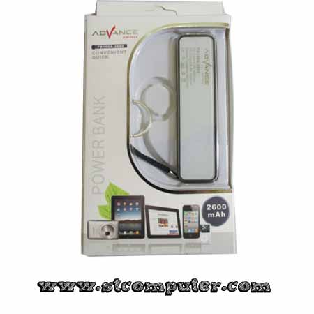 Power Bank Advance 2600mAH