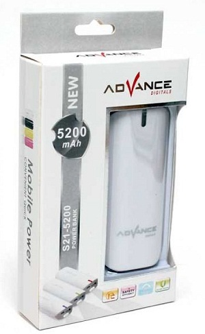 Powerbank Advance 5200mAH S21