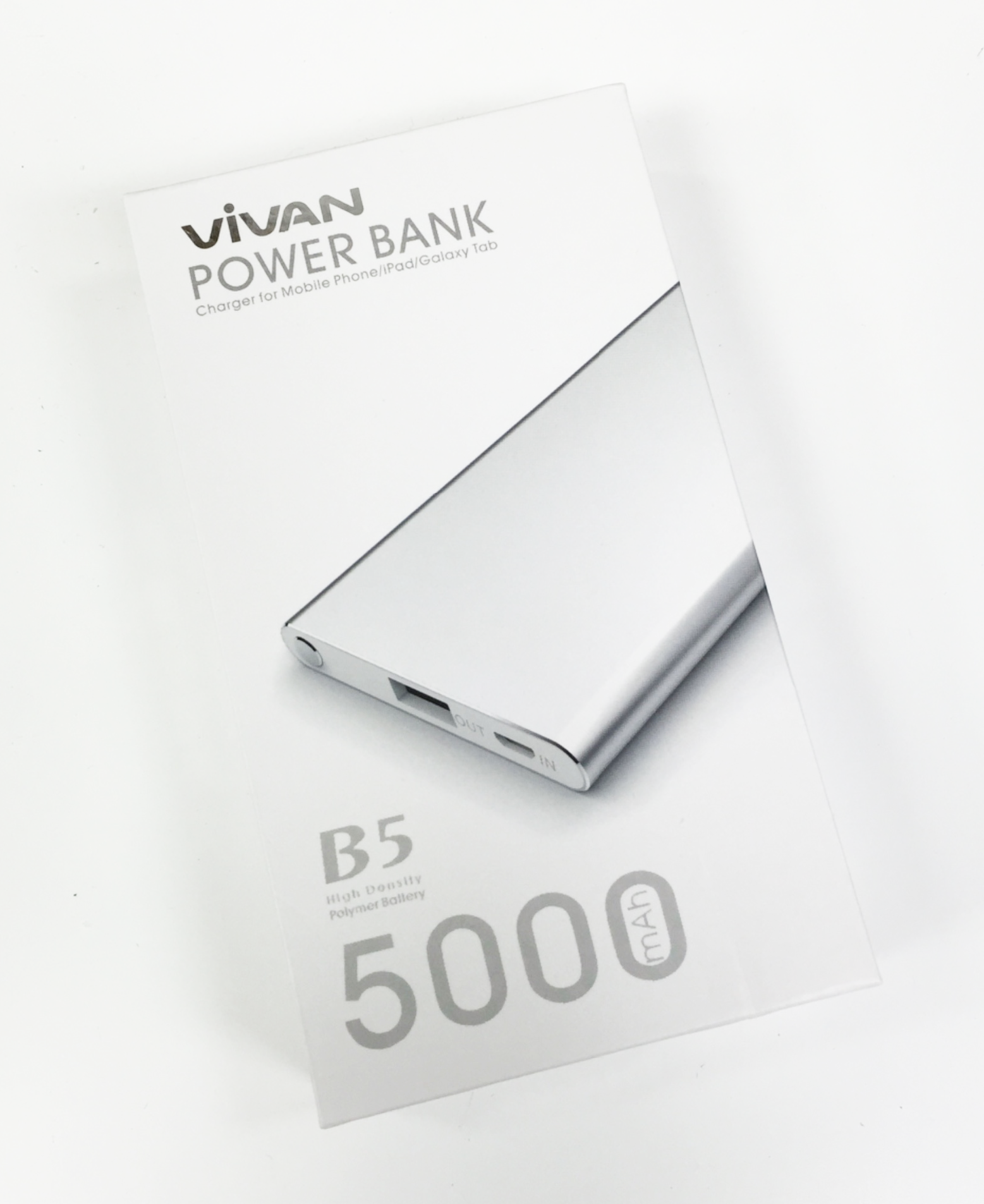 Powerbank Vivan B5 5000 mAh