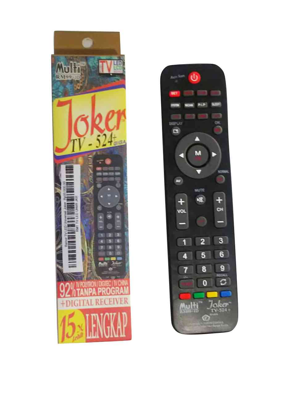 Remot TV LED Universal Joker