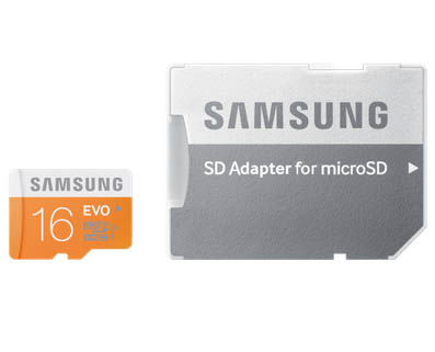 SAMSUNG Microsd Evo Class 10 16Gb With Adapter