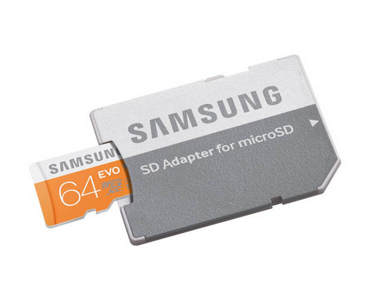 SAMSUNG Microsd Evo Class 10 64Gb With Adapter
