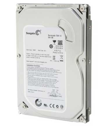 HDD 3.5″ 500gb Seagate-16MB, 7200rpm Barracuda-SATA II