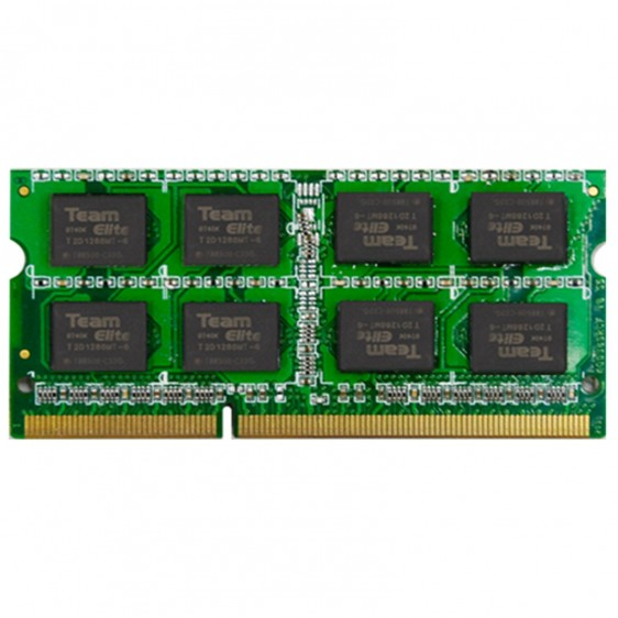 Sodimm team elite PC3-12800 DDR3 2Gb 1600MHz