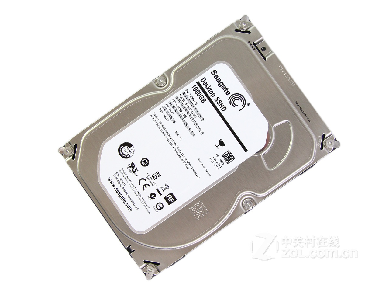 HDD 3.5″ 1000gb Seagate-64MB, 7200rpm Barracuda-SSHD