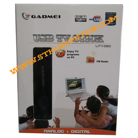 TV Tuner USB Gadmei Stik for Laptop & PC