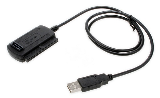 Konektor USB to IDE SATA no adapter