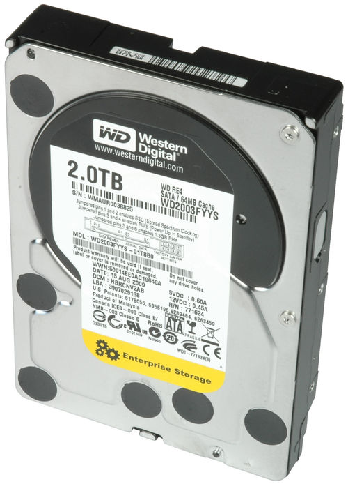 HDD 3.5″ 2000gb WDC-64MB,7200rpm,Tebal SATA III
