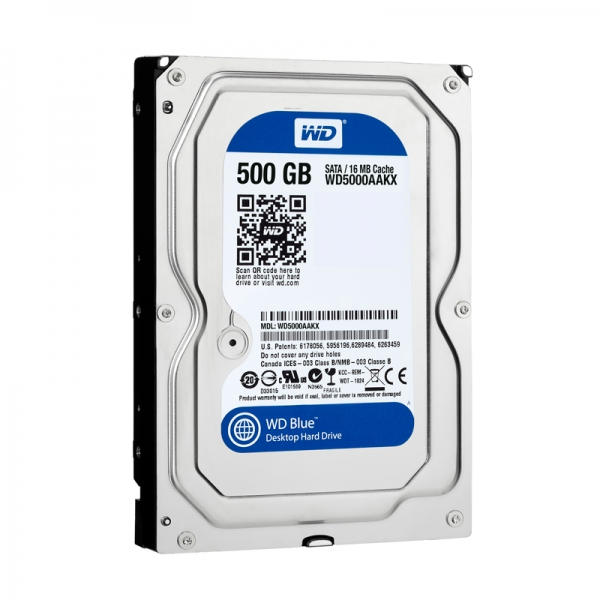 HDD 3.5″ 500gb WDC-16MB,7200rpm,SATA III